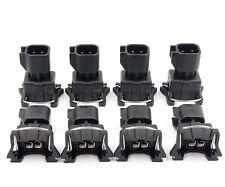 EV6 to EV1 Injector Connector Adapter QTY 8 EV14 USCAR Fuel LS1 LS2 LS3 LSX LT1