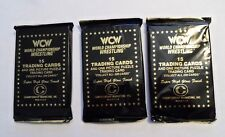 (3) 1991 WCW WRESTLING UNOPENED PACKS - 45 CARDS  RIC FLAIR  FOUR HORSEMAN RARE