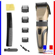 Tondeuse Cheveux Et Barbe Sans Fil Coiffeur Professionnelle Rasoir Rechargeable