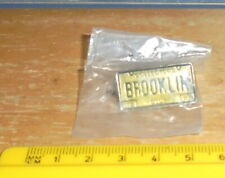 The Brooklin Collectors Club 1988 Numberplate Enamel Pin Badge