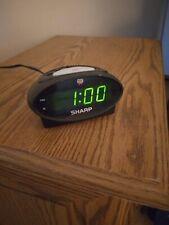 Sharp digital alarm clock (Loud Alarm)
