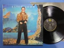ELTON JOHN  CARIBOU DJM 74 A3B2 Transulent Red LP EX+/EX