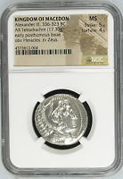 Macedon - Alexander III the great (336-323 BC), Tetradrachm, NGC MS 5/5 - 4/5