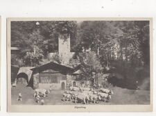 Alpaufzug Tell Freilicht Spiele Interlaken Switzerland Vintage Postcard 318b