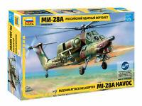 ZVEZDA: MI-28A HAVOC in 1:72