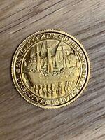 "Turkey 500.000 Lira 1992 ""Turkish Jews"" only 485 pieces minted 7,21gr 22ct Gold"