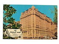 The Willard Hotel, Residence of Presidents, Washington DC Postcard - 1965