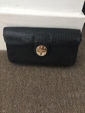 dkny black leather bag