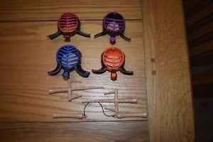 2012 Viacom TMNT Teenage Mutant Ninja Turtles 10 Inch Figure Accessories Masks