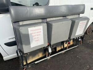 Taxi 3 X Rear Facing Upright Seats With Seat Belts
