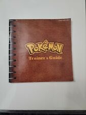 Pokemon Blue Version Trainers Guide Original Nintendo Gameboy Manual Only