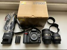 Nikon D7000 DSLR Camera Bundle, Nikkor 16-85mm F3.5, 35mm F1.8, MB-D11 Grip