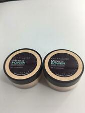 x2 Maybelline Mineral Power Powder Foundation Travel Size- Classic Ivory