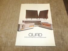 QUAD amp tuner speaker preamp original Catalogue