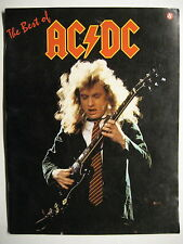 "AC/DC SONGBOOK TABULATUR ""THE BEST OF"" GUITAR TAB - AMSCO PUBLICATIONS 1988"