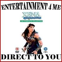 XENA WARRIOR PRINCESS - COMPLETE COLLECTION SERIES 1 - 6  *BRAND NEW DVD BOXSET*