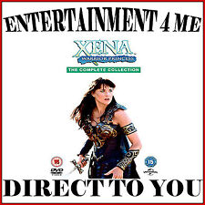 XENA WARRIOR PRINCESS - COMPLETE COLLECTION SERIES 1 - 6  *BRAND NEW DVD BOXSET*
