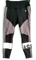 Asics Colour Block 2 Womens 7/8 Training Tights 2032A410 Black Size S