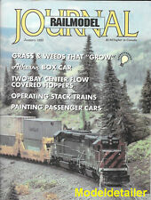 Railmodel Journal Jan.95 Grass Weeds Stack Trains Athearn Box Car Helpers SD45