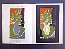 Braque double spread lithographs Mourlot/Sauret catalogue 1953 INV2682
