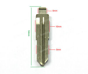 Uncut Blank Blade Fit For Hyundai Santa Fe Sonata XG300 XG350 Flip Key
