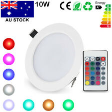 10w Dimmable RGB 16 Color LED Light Ceiling Recessed Panel Downlight Spot Lamp