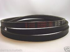 "Jason Cx-120 UniMatch Cogged V Belt 7/8"" Wide X 124"" Long b115"