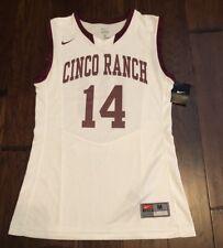 Nike Men's Cinco Ranch Basketball Jersey Sz. M New 553390-115 #14