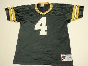Brett Favre Green Bay Packers NFL Champion Jersey Boys Large (14-16) #4