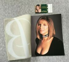 BARBRA STREISAND MGM 1994 THE CONCERT TOUR CONCERT PROGRAM & Ticket!