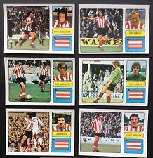 Southampton FKS 1973-74 il meraviglioso mondo delle stelle del calcio 6 X ADESIVI