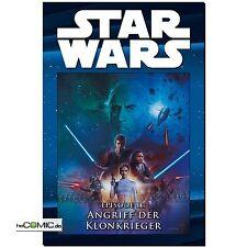 Star Wars cómic colección 25 episodio ii ataque de la klonkrieger Panini HC nuevo