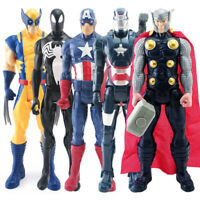 30cm Super Heroes Avengers Endgame Hulk Captain America Action Figure Toys Doll