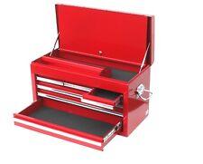 Werkzeugkiste Werkzeugkasten Deckel sechs Schubladen rot Haltegriffe 00323