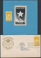 """#769 """"Gold Star Mothers"""" Photo Essay With Fdc Cachet Bs3603"""