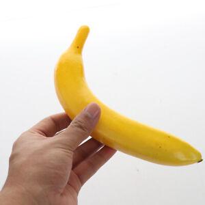 10Pcs Fake Fruits Banana Artificial Simulation Bananas Home Party Table Decor