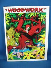WOODWORK 1 WALLY WOOD PROZINE NM- 1980