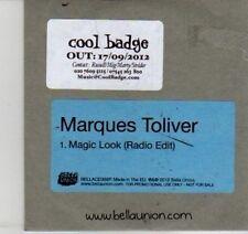 (DI536) Marques Toliver, Magic Look - 2012 DJ CD