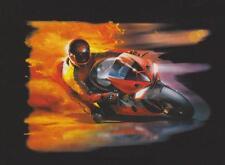 SUPERBE TEE SHIRT HAUTE QUALITE  MOTO FLAMME.  S. M. L. XL. XXL. XXXL.+ enfant