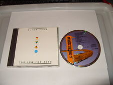ELTON JOHN  TOO LOW FOR ZERO - cd 10 TRACKS - 1983 -THE ROCKET RECORD CD  is Ex