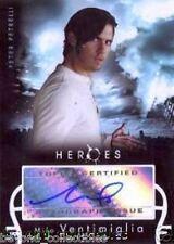 HEROES - AUTOGRAPH CARD - MILO VENTIMIGLIA AS PETER PETRELLI
