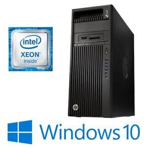 HP Z440 Workstation Intel Xeon E5-1620v3 16G 1TB DVDRW Quadro K620 Win 10 Pro