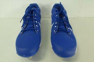 Nike Air Max Air Clipper '17 Baseball Cleats Size 12 - Blue and White