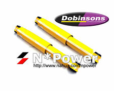 "DOBINSONS SHOCK ABSORBERS FRONT PAIR 2"" LIFTS FOR FORD COURIER PC PD 4X4 UTE"