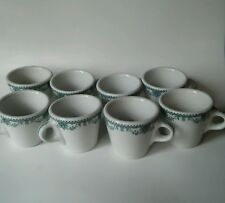 Mayer China Marion Restaurant Ware C Handle Coffee Cups Mugs Lot Of 8