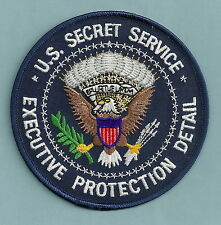 U.S. SECRET SERVICE PRESIDENTIAL EXECUTIVE PROTECTION DETAIL POLICE PATCH