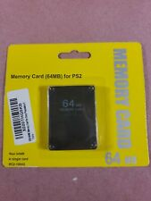 For Sony PlayStation 2 High Speed 256 Mb Memory Card Ps2- Brand New