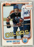 Wayne Gretzky 1981-1988 Edmonton Oilers Los Angeles Kings New York Rangers