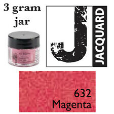 Pearl Ex Mica Powdered Pigments - 3g bottles -MAGENTA 632