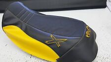 can am can-am renegade 500 800 1000  custom mudding / swamp seat  cover  BLK/YEL
